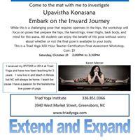 Upavistha Konasana Embark on the Inward Journey