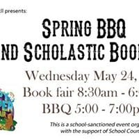 End of Year BBQ and Scholastic Book Fair