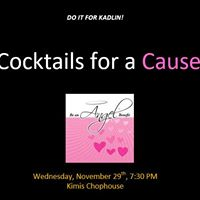 Be an Angel Cocktails for a Cause