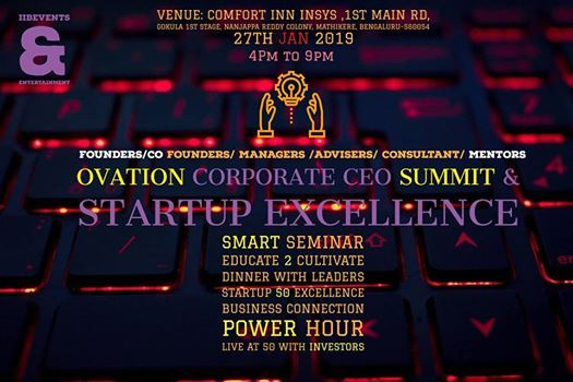 Ovation corporate ceos summit & startup excellence