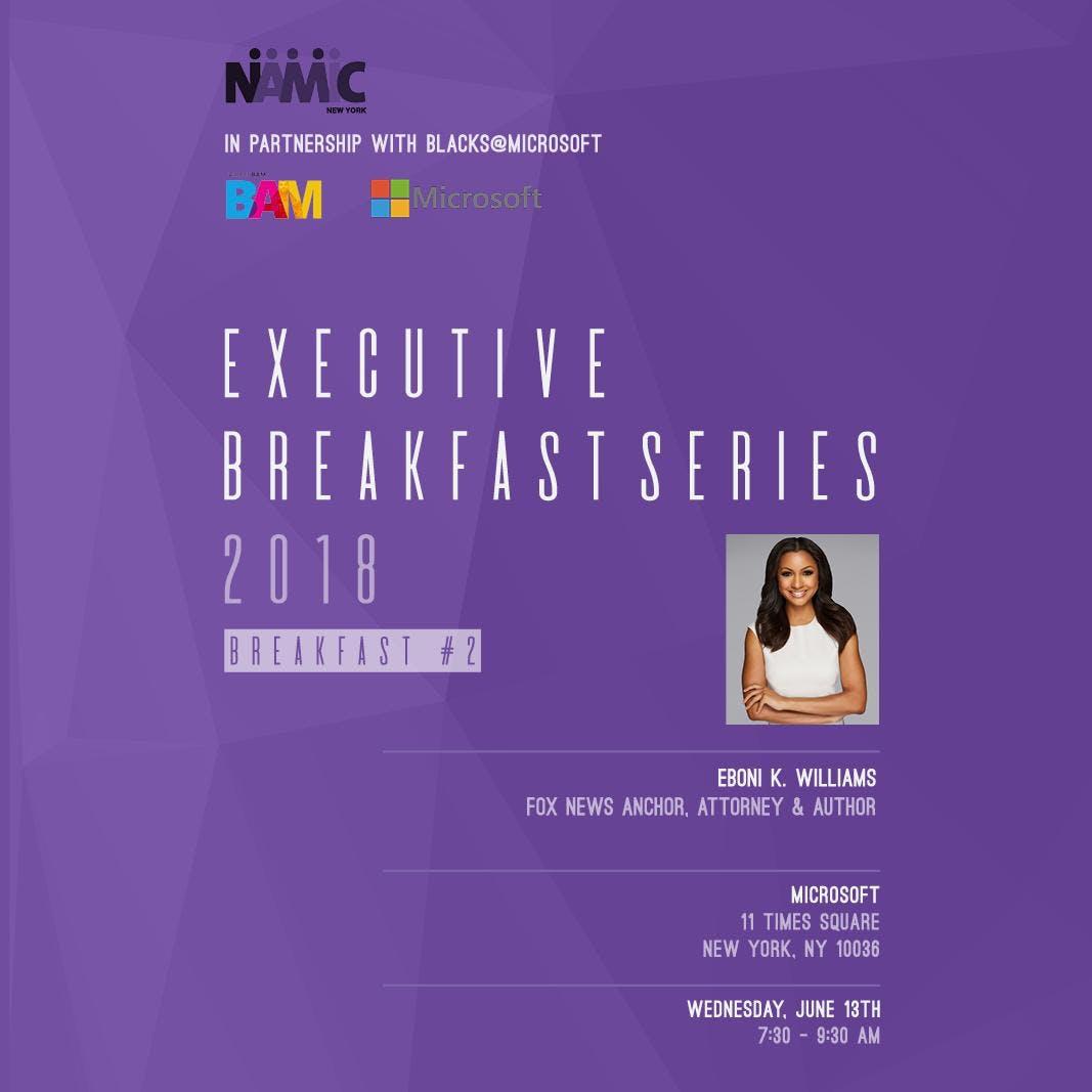 NAMIC NY Executive Breakfast Series In Partnership With Microsoft