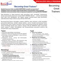 Becoming GREAT Trainers on February 27-28