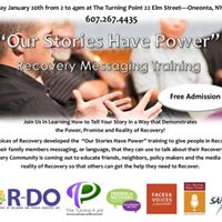 Our Stories Have Power Workshop