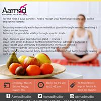 Womens Day Special- Yoga &amp Food for Hormones- 5 day workshop