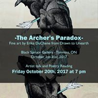 The Archers Paradox - Art Show and Artist TalkPoetry Reading
