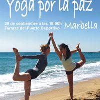 Il Encuentro de Yoga por La Paz en Marbella