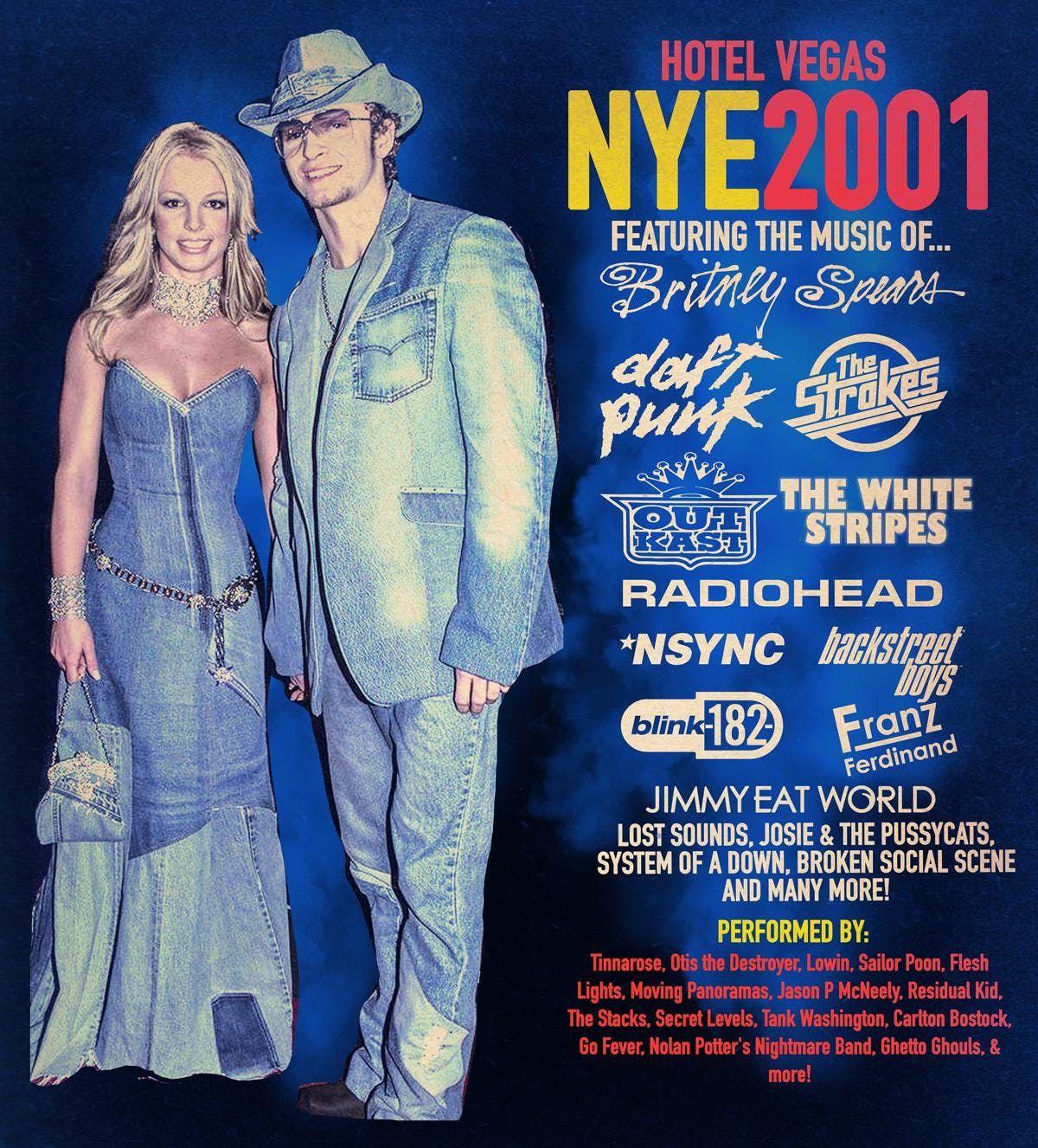 NYE 2001 at Hotel Vegas & The Volstead
