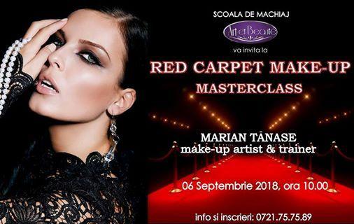 Red Carpet Make Up Masterclass At şcoala De Machiaj Art Et Beaute