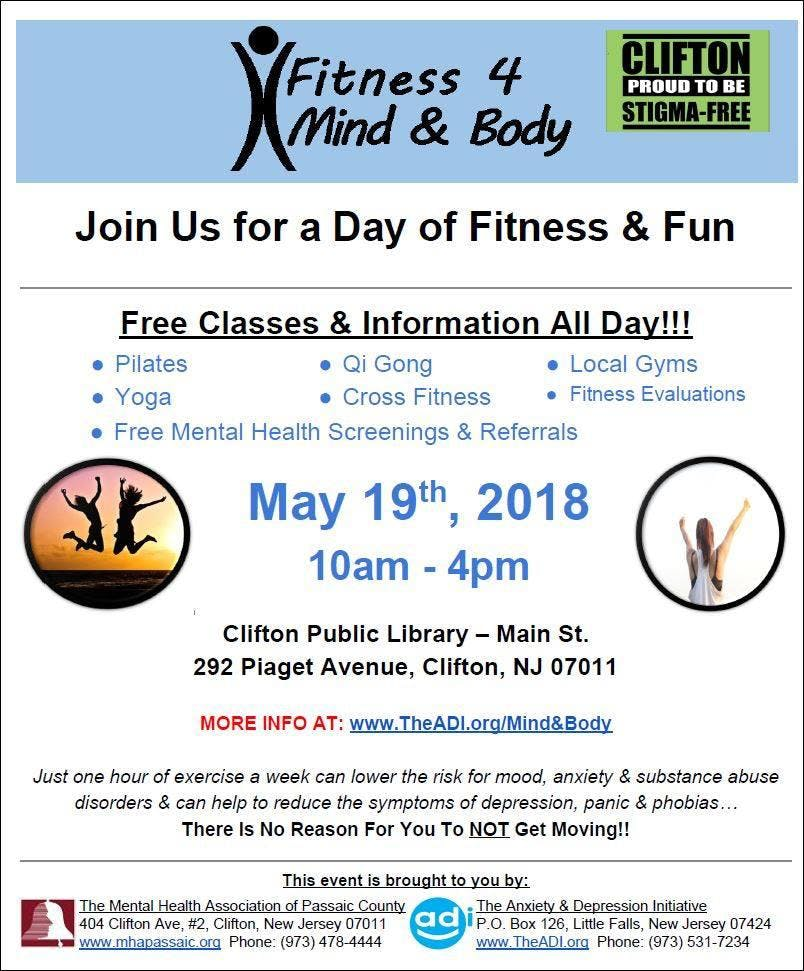 Mental Health Events In Belmar Today And Upcoming Mental Health
