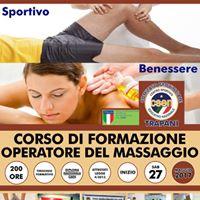 Corso Operatori in Massaggio del Benessere e Massaggio Sportivo