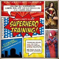 Superhero training and meet &amp greet