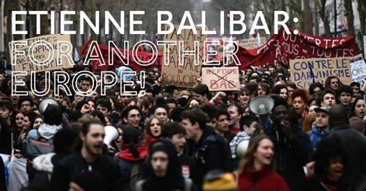 Etienne Balibar For Another Europe