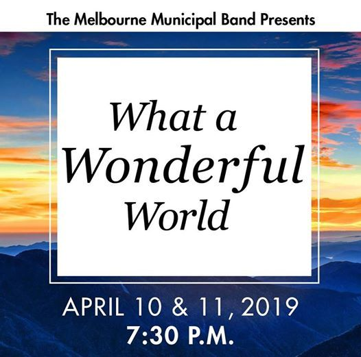 What a Wonderful World MMB Concert