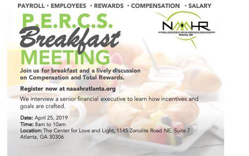 NAAAHR Atlanta PERCS Breakfast Meeting