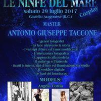 Workshop di fotografia &quotLE NINFE DEL MARE&quot
