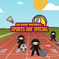 Go-Ninja  Sports Day Special Free Vodka n Mixer For Everyone