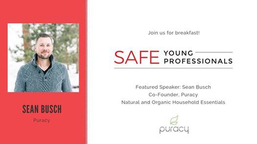 SAFE Young Professionals Breakfast with Sean Busch from Puracy