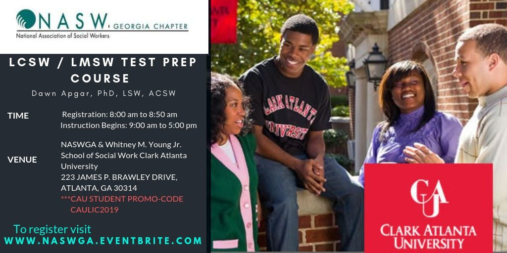 CAU School of Social Work and NASWGA Chapter host Licensure Prep Course
