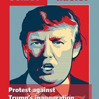 Dublin protest against Trump inauguration