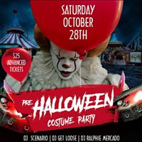 Pre - Halloween Costume Party (Sat Oct 28)