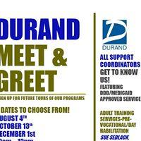 Durand MEET &amp GREET at Durand INC.