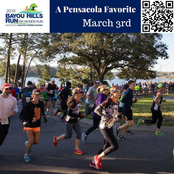 2018 Bayou Hills Run 10k/5k/Kids Run - A Pensacola Favorite at ...