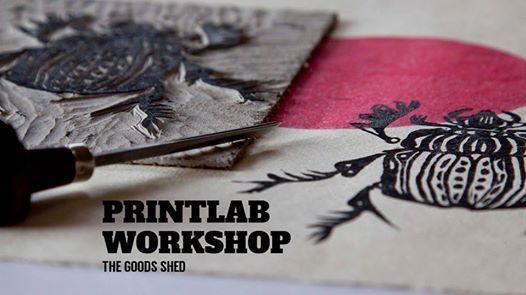 Print Lab Workshop Linocut