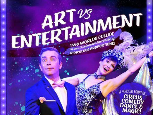 Art Versus Entertainment  Circus Magic & Comedy Spectacular