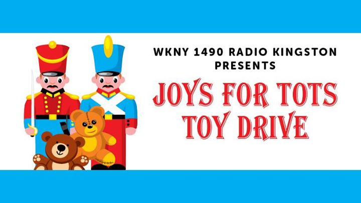 Joys for Tots Toy Drive at Frank Guido's Little Italy, Kingston