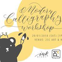Modern Calligraphy Workshop