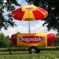 Sugardale Frank Of Fun Tent &amp Sampling
