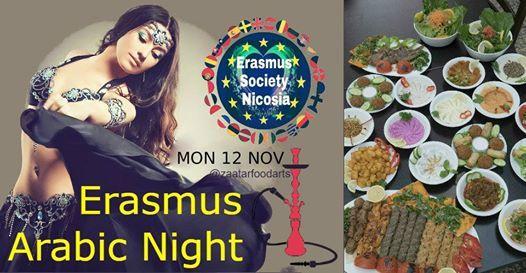 Erasmus Arabic Night