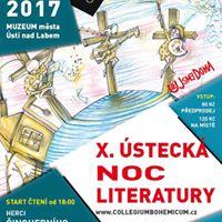 X. steck noc literatury &amp U JSME DOMA