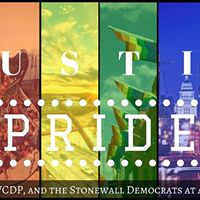 ATX Pride Parade with TCDP WCDP and Stonewall Dems