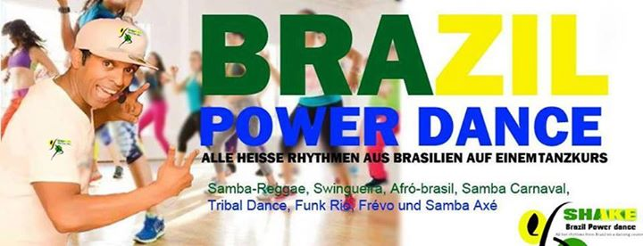 Brazil Power Dance Class in Berlin