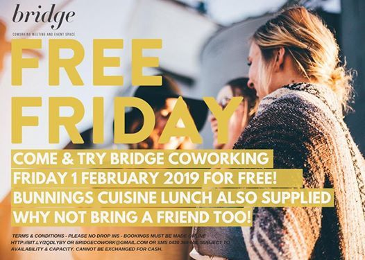 Free Friday Come & Try Coworking in Geelong