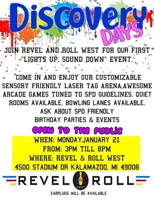 Discovery Days At Revel Roll West4500 Stadium Drive Kalamazoo