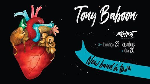 Tony Baboon - New Band in Town  Expirat  25.11