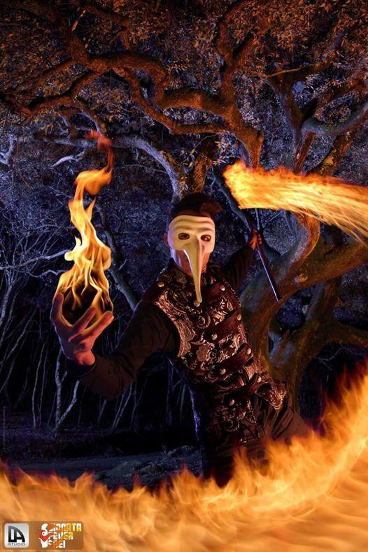 Spiralights & Fireshow di Gionata Feuer Frei