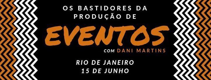 Rio de JaneiroRJ - Os Bastidores da Produo de Eventos
