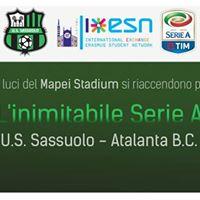 US Sassuolo - Atalanta BC con ESN Modena