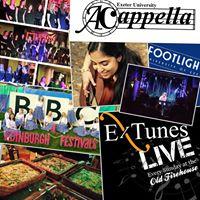 ExTunes Live 26 Feb  A Cappella Soc The Bluebelles &amp more