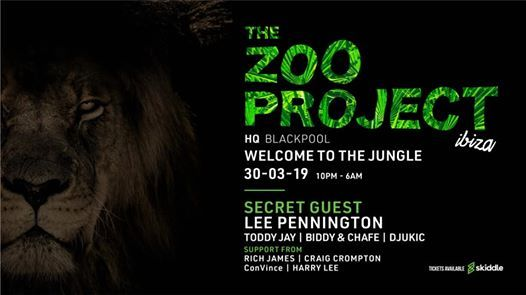 The Zoo Project Ibiza - Blackpool takeover