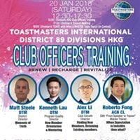 Divisions HKG Club Officers Training