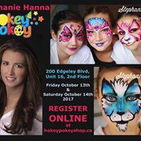 Stephanie Hanna Workshop at Hokey Pokey