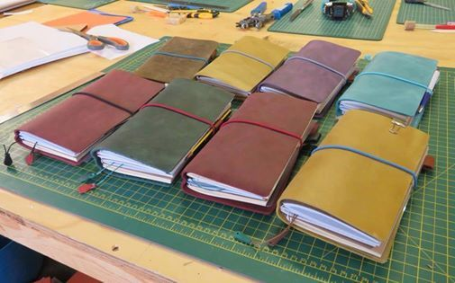 Leather Midori Style Travelers Notebook - One Day Workshop