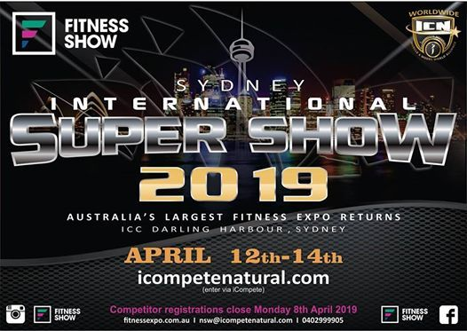 2019 ICN Sydney International Supershow