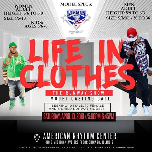 Life In Clothes at American Rhythm Center, Chicago