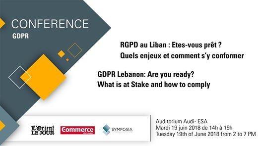 RGPD au Liban Quels enjeux et comment sy conformer