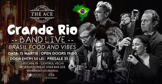 Grande Rio Band  Brasil Food and Vibes